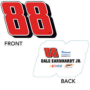 Dale Earnhardt Jr. -  #88 Logo Big Head